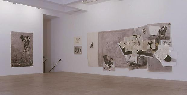 Installation view  <b>Drawings from Journey to the Moon and Fragments to Georges Melies</b>, 2003 Image