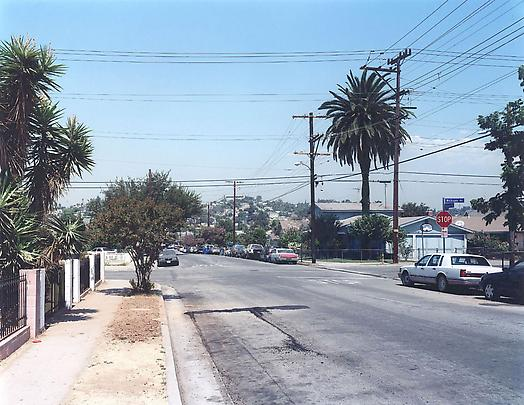 <b>Strasse in Los Angeles, Los Angeles</b>, 2002 Image