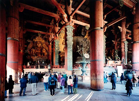 &lt;b&gt;Todai-Ji Interior, Nara&lt;/b&gt;, 1999 Image