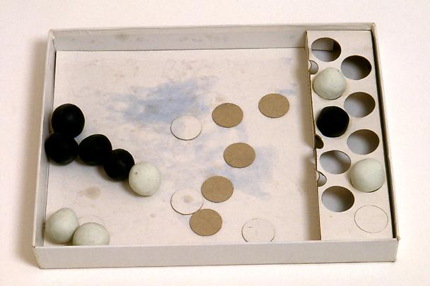 <b>Penske Work Project: Black and White Game</b>, 1998 Image