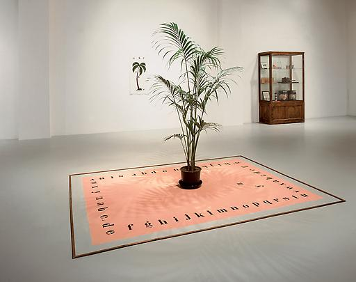 MARCEL BROODTHAERS <b>Tapis de Sable</b>, 1974 Image