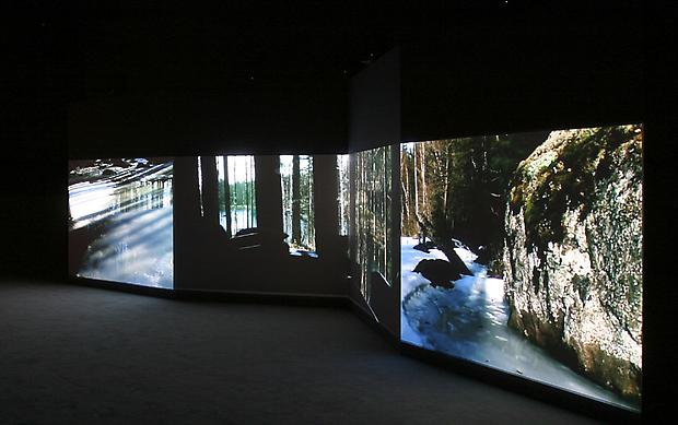 Installation view  <b>The Hour of Prayer</b>, 2005 Image