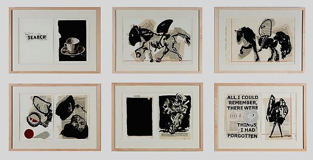 """Original drawings from the artist book <b>""""Everyone Their Own Projector""""</b> (Captures ed., 2008). Image"""