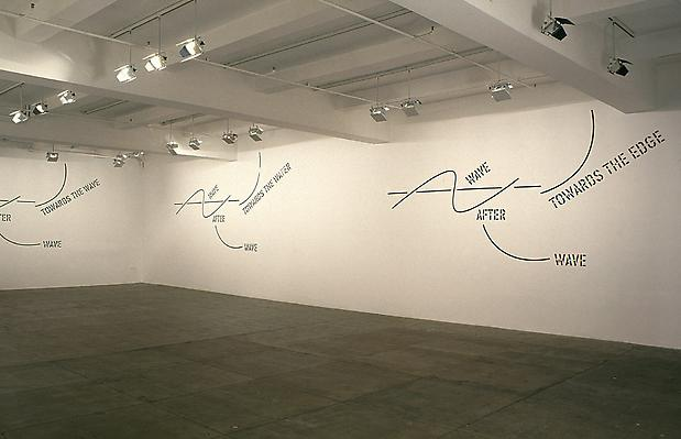 Installation view: <b>WAVE AFTER WAVE</b>, 2002 Image