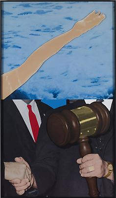 <b>Hands and/or Feet (Part One): Leg / Gavel</b>, 2009 Image