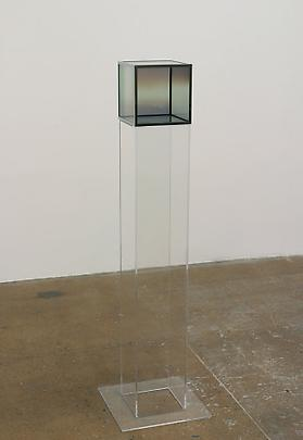 LARRY BELL <b>Glass Cube</b>, 1987 Image