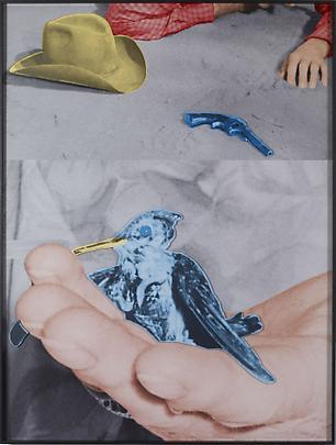 <b>Hands and/or Feet (Part One): Hat / Gun / Bird</b>, 2009 Image
