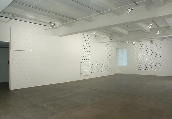 "<b>""Hommage à Rimbaud"" ( ""Homage to Rimbaud"")</b>, 2003 Installation view (Detail) Image"