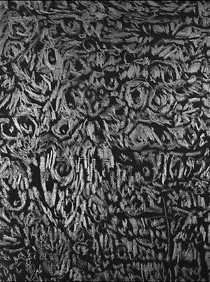 <b>Pelle di grafite - Riflesso di Wolframite</b> (Detail), 2007 Image