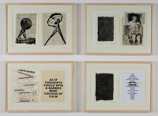 "Original drawings from the artist book <b>""Everyone Their Own Projector""</b> (Captures ed., 2008). Image"