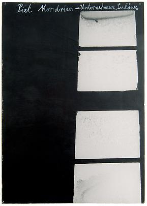 ANSELM KIEFER <b>Piet Mondrian</b> Image