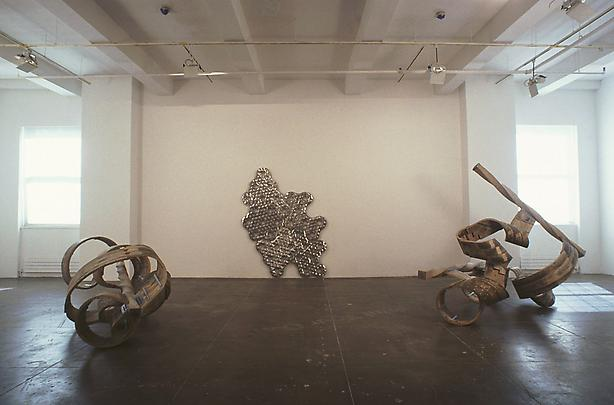 Installation view South Gallery (from left to right):  <b>Individual</b>, 2004  <b>Infinity #24</b>, 2004  <b>Couple</b>, 2004 Image