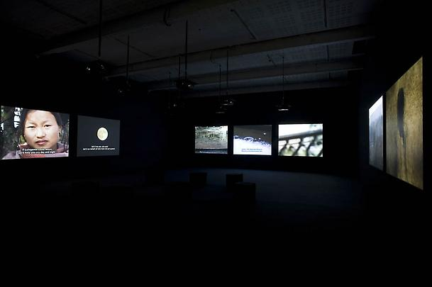 Installation view <b>The Lightning Testimonies</b>, 2007 Image