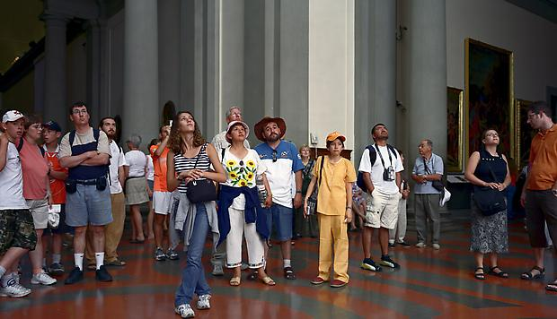 <b>Audience 7 (Galleria Dell'Accademia), Florenz</b>, 2004 Image