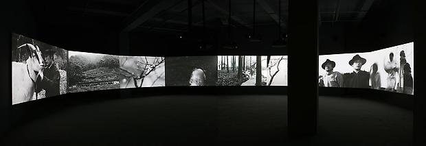Installation view  <b>No Snow on the Broken Bridge</b>, 2006 Image