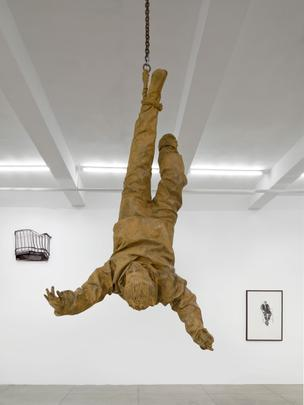 <i>Figure Hanging from One Foot</i>, 2001 Image
