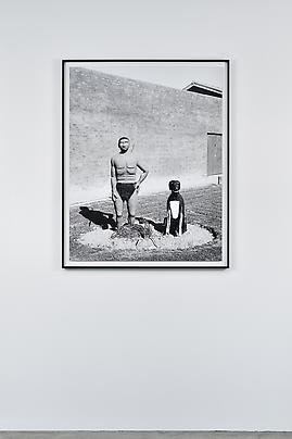 "<i>Sculpture by political prisoner Japhta Masemola, commemorating the first and the most recent political prisoners on ""The Island"", Robben Island, 16 July 1991</i> Image"