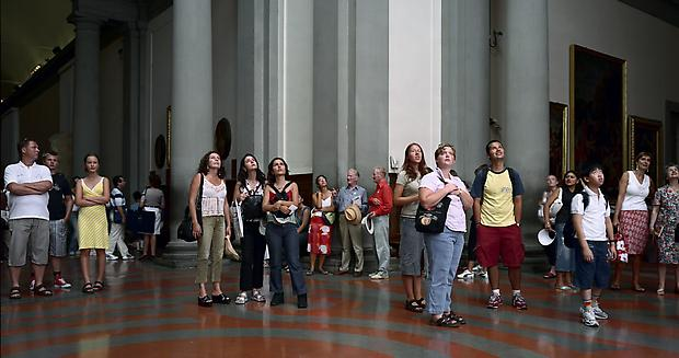 <b>Audience 4 (Galleria Dell'Accademia), Florenz</b>, 2004 Image