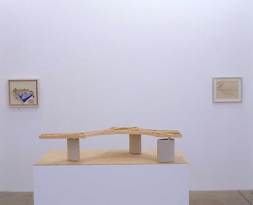 Installation view YVES KLEIN and Gabriel Orozco Image