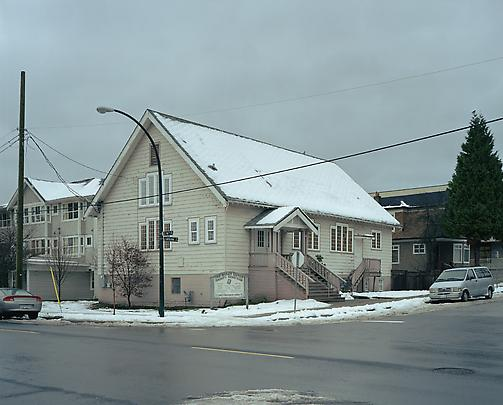 <b>Church, Carolina St., Vancouver, Winter</b>, 2006 Image