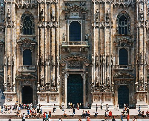 &lt;b&gt;Milan Cathedral (Faade) / Mailnder Dom (Fassade)&lt;/b&gt;, 1998 Image