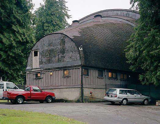 <b>Rear view, open air theatre</b>, Vancouver, 2005 Image