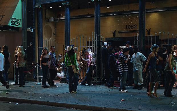 <b>In front of a nightclub</b>, 2006 Image