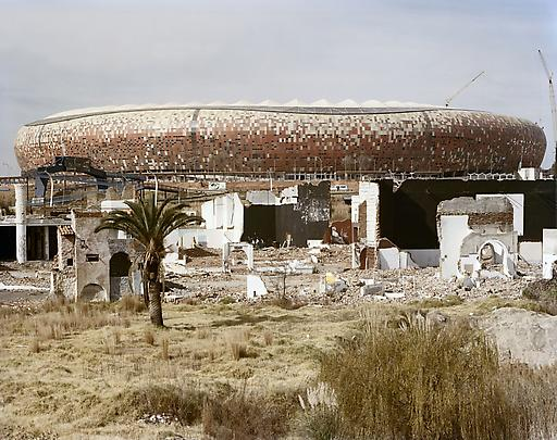 <b>Shareworld, intended as a theme-park for the people of Soweto, was built and went bankrupt in the late 1980s. 6 June 2009</b> Image