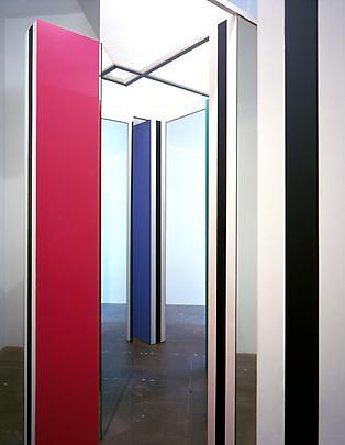 DANIEL BUREN <b>Cabane eclatée polychrome aux mirroirs</b>, 2004 Image