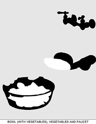 <b>Sediment (Part Two): Bowl (with Vegetables), Vegetables and Faucet</b>, 2010 Image