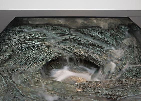 Vers la terre (detail), 2011 Image