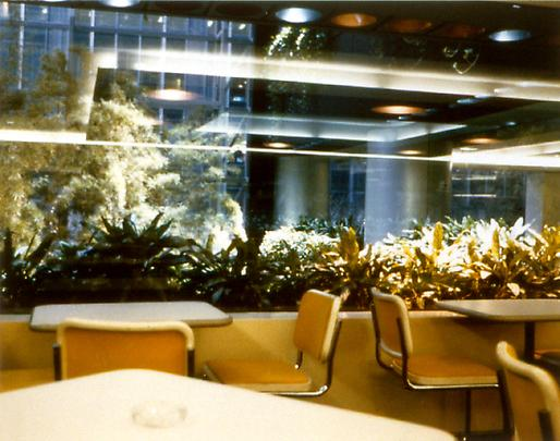 DAN GRAHAM <b>Employees Dining Area</b>, 1986 Image