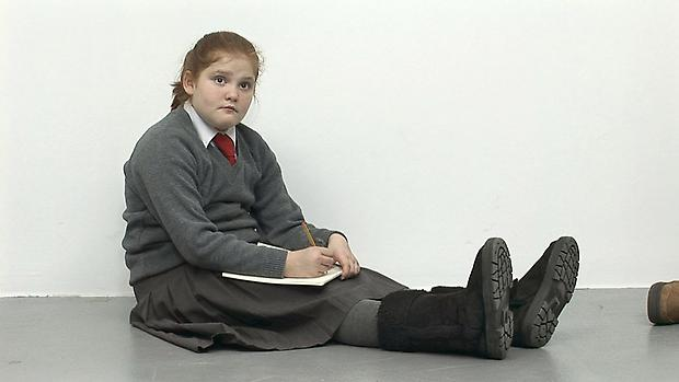 Still from Ruth drawing Picasso, Tate Liverpool, 2009 Image