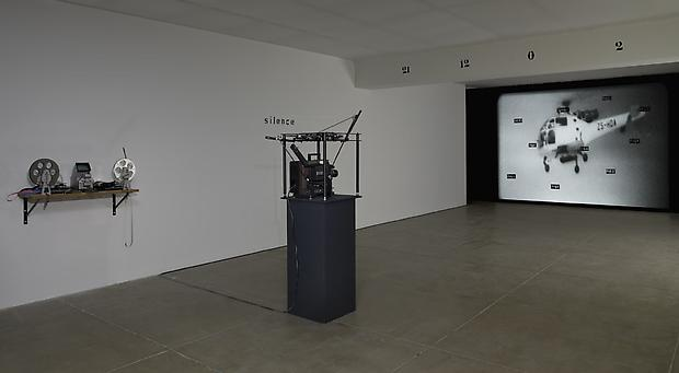 Installation; recreation of <b>Section Cinéma</b> (1972) at 12 Burgplatz, Düsseldorf. Image