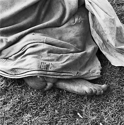 Particulars <b>Woman resting at the trading store, Hobeni, Bomvanaland, Transkei</b>, 1975 Image