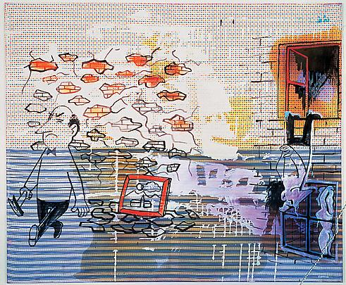 SIGMAR POLKE <b>Untitled</b>, 1983 Image