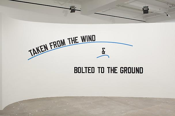 <b>TAKEN FROM THE WIND & BOLTED TO THE GROUND</b>, 2009 Image