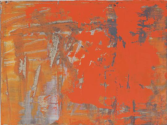 &lt;b&gt;Abstract Painting (906-12)&lt;/b&gt;, 2008, 11 3/4 x 15 3/4 in. ( 30 x 40 cm ) Image