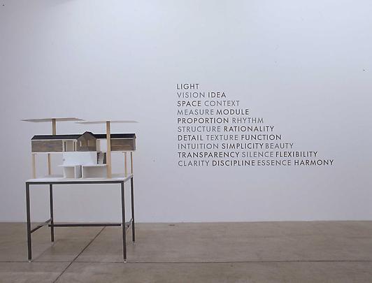 Installation view Eija-Liisa Ahtila and Lothar Baumgarten Image