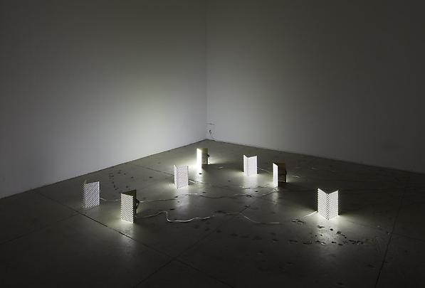 Installation View <b>The Host and the Cloud (Mask)</b>, 2010 Image