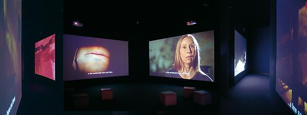 Installation view EIJA-LIISA AHTILA <b>Where is Where?</b>, 2008 Image