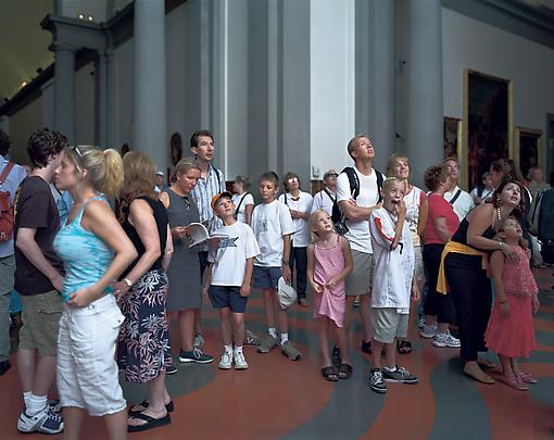 <b>Audience 2 (Galleria Dell' Accademia), Florenz</b>, 2004 Image