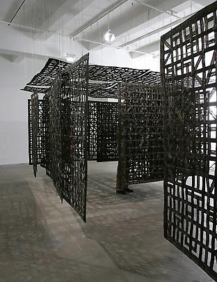 <b>Double Pavilion Suspended in a Room</b>, 2005 Image