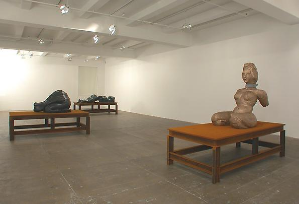 Installation view North Gallery (from left to right):  <b>Woman No 12.</b>, 2003   <b>Woman No 11.</b>, 2003   <b>Woman No 10.</b>, 2003 Image