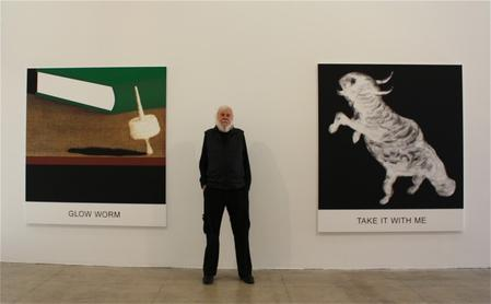 John Baldessari is awarded National Humanities Medal by President Obama