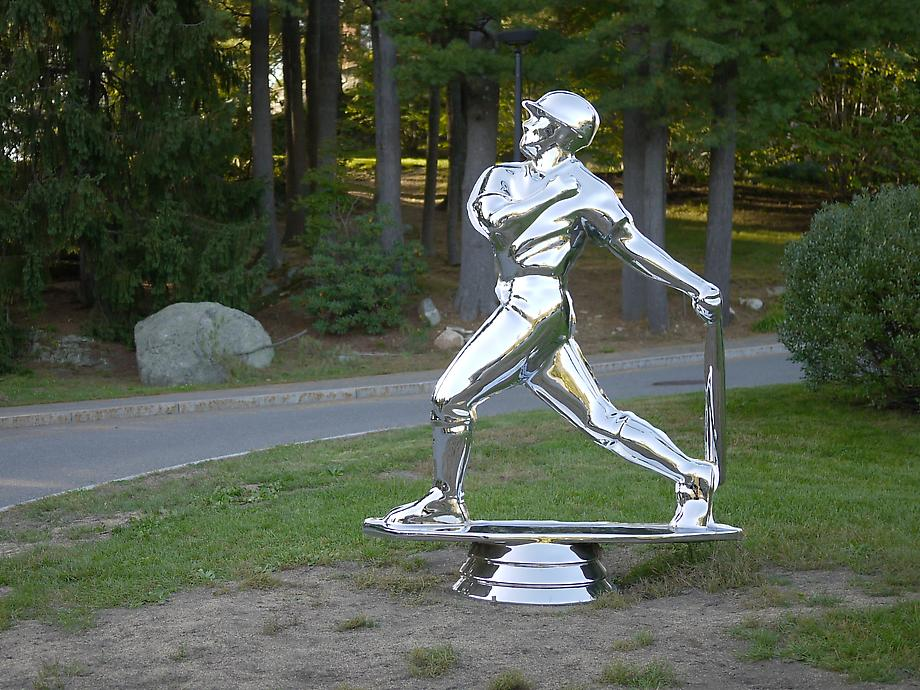 Male baseball #1, 2009