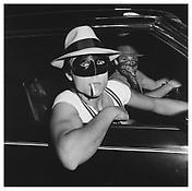 <i>Boys in Car, Halloween</i> 1978 Gelatin-silver print 14 5/8 x 14 5/8 inches; 37 x 37 cm