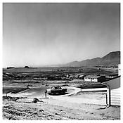 <i>Newly Occupied Tract Houses, Colorado Springs, Colorado</i> 1968  Gelatin-silver print 10 x 8 inches; 25.5 x 20 cm