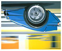 <i>EB 110</i> 1992 Oil on linen 90 x 110 inches; 229 x 280 cm