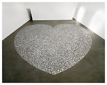 <i>Herz mit Geld (Money Heart)</i> 1998-99 Plastic and aluminum 39 feet 3 1/2 inches x 39 feet 3 1/2 inches; 12 x 12 meters